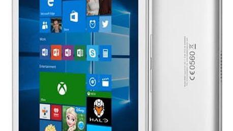 Dotykový tablet ALCATEL PLUS 10 LTE + klávesnice (8085-2CALCZ1-1P) stříbrný SIM karta T-Mobile 200Kč Twist Online Internet v hodnotě 200 Kč + DOPRAVA ZDARMA