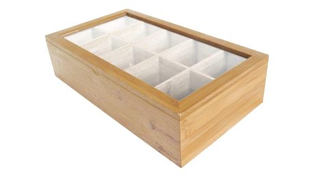 Bambusová krabička na čaje Bambum Bonte