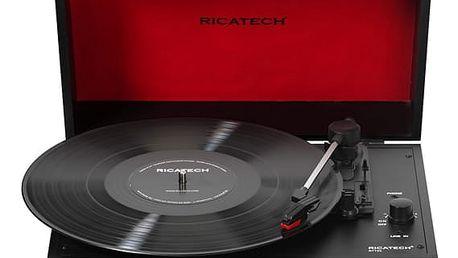 Gramofon Ricatech RTT21 Advanced černý (659054)