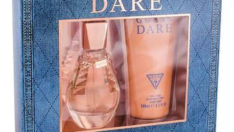 GUESS Dare EDT dárková sada W - EDT 50 ml + tělové mléko 200 ml