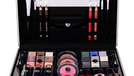2K All About Beauty Train Case dekorativní kazeta dárková sada W - Complete Makeup Palette