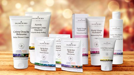 Sady kvalitní kosmetiky s alpskou solí