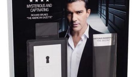 Antonio Banderas The Secret dárková kazeta pro muže toaletní voda 100 ml + balzám po holení 100 ml