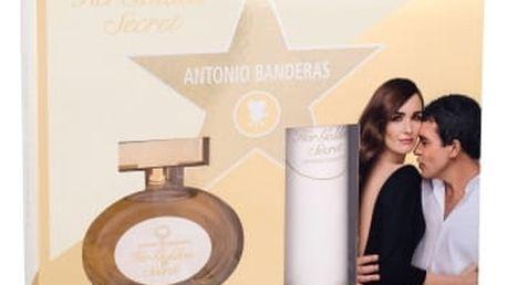 Antonio Banderas Her Golden Secret dárková kazeta pro ženy toaletní voda 80 ml + deodorant 150 ml