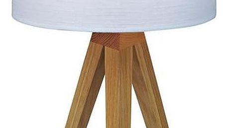 Bílá stolní lampa Markslöjd Kullen, 44cm