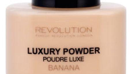 Makeup Revolution London Luxury Powder 42 g pudr pro ženy Banana