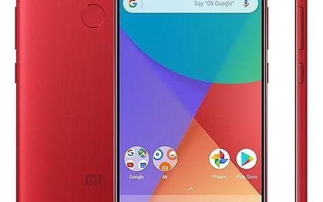 Mobilní telefon Xiaomi Mi A1 32 GB Dual SIM CZ LTE (17536) červený Software F-Secure SAFE, 3 zařízení / 6 měsíců v hodnotě 979 Kč + DOPRAVA ZDARMA