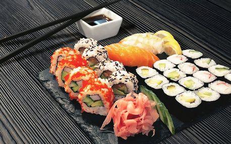 Čerstvé sushi: 3 lákavé sety až se 44 kousky