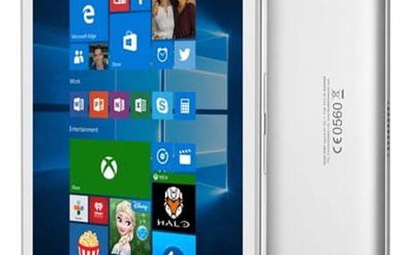 Dotykový tablet ALCATEL PLUS 10 LTE + klávesnice (8085-2CALCZ1-1P) stříbrný + DOPRAVA ZDARMA