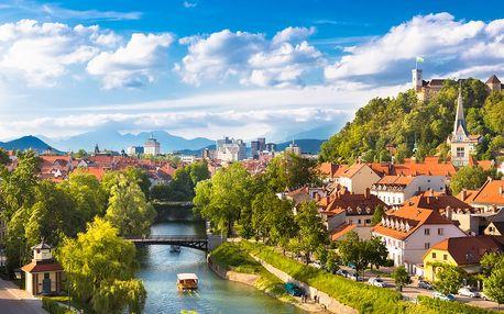 Slovinsko od Lublaně až po Bled: 4denní poznávací zájezd vč. 2 nocí se snídaní pro 1 osobu