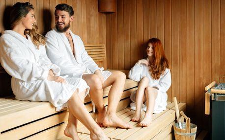 Privátní finská sauna až pro 5 lidí na 1,5 hod