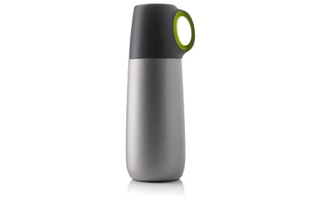 Zelená termoska s hrníčkem XD Design Bopp,600ml