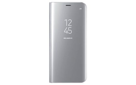 Pouzdro na mobil flipové Samsung Clear View pro Galaxy S8 (EF-ZG950C) stříbrné (EF-ZG950CSEGWW)