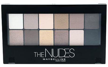 Maybelline The Nudes Eyeshadow Palette 9,6 g oční stín W