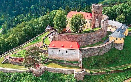 Letní pobyt na hradě Svojanov včetně prohlídky