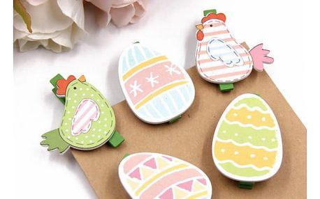 Sada dekoračních kolíčků Velikonoce 20 ks