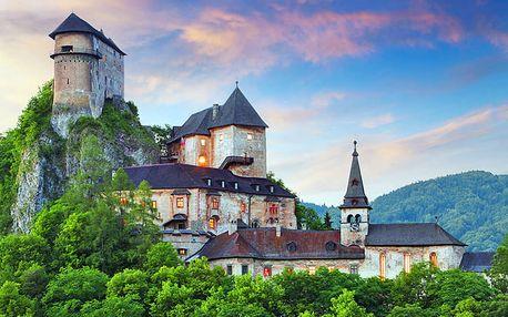 Malebná slovenská Orava v penzionu blízko termálů, skanzenu v Zuberci i vrcholů Západních Tater – platnost po celý rok