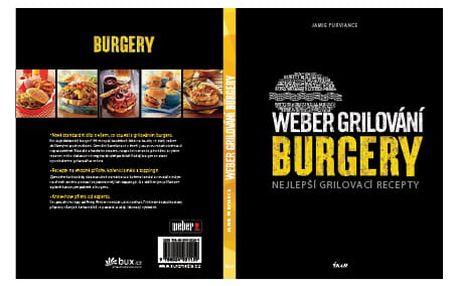 Weber Kuchařka grilování Burgery