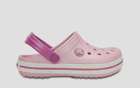 Sandály Crocs Crocband Kids BPk/WO Růžová