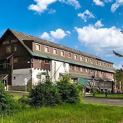 2 až 6denní pobyt pro 2 s polopenzí a saunou v hotelu Maxov v Jizerských horách