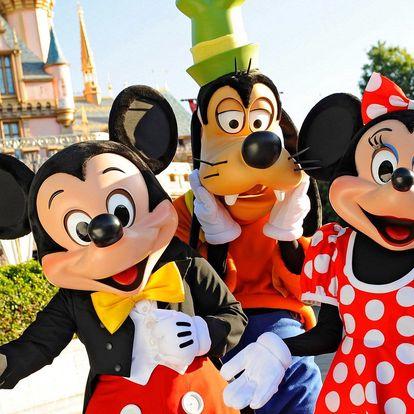 Autobusem do Disneylandu v Paříži