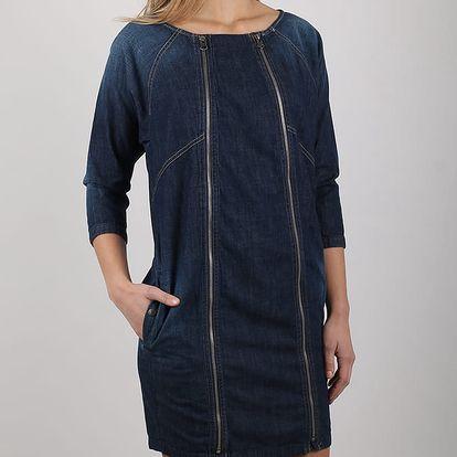Šaty Replay W9772 Modrá