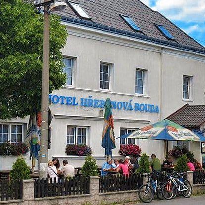 3 až 6denní pobyt pro 2 osoby v hotelu Hřebenová Bouda v CHKO Labské pískovce