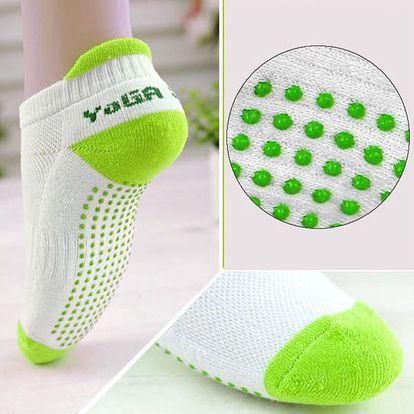 Dámské protiskluzové ponožky - různé barvy