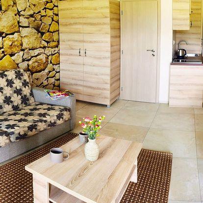 Nové apartmány v Nízkých Tatrách pro 2 až 4 osoby