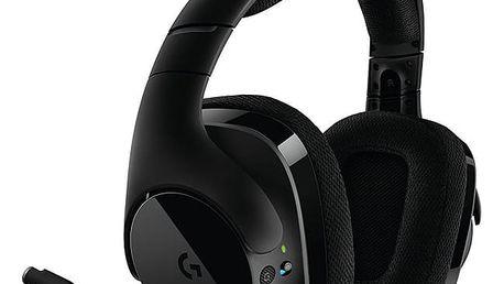 Headset Logitech G533 Wireless černý (981-000634)