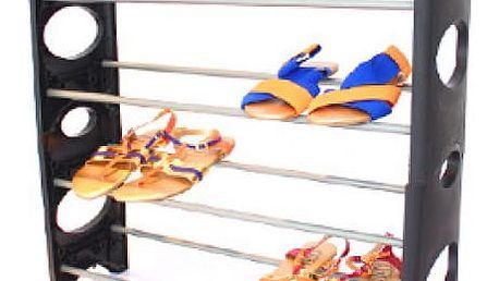 Malý přenosný stojan na boty