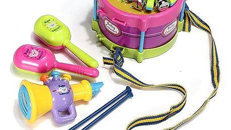 Sada hracích hudebních nástrojů pro děti