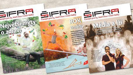 Roční či půlroční předplatné časopisu Šifra