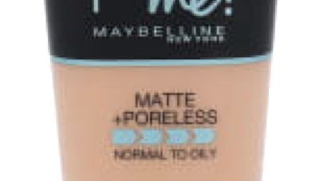Maybelline Fit Me! Matte + Poreless 30 ml makeup pro ženy 120 Classic Ivory