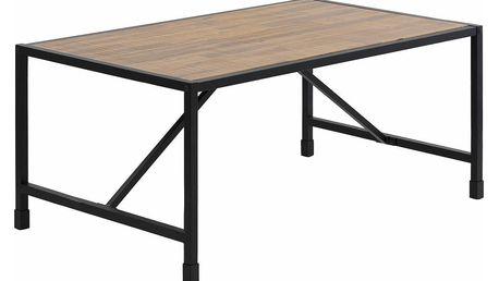 Konferenční stolek z masivního akáciového dřeva a kovu Støraa Saigon