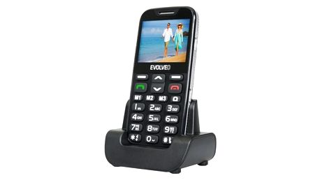 Mobilní telefon Evolveo EVOLVEO EasyPhone XD pro seniory černý (EP-600-XDB)