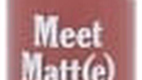 TheBalm Meet Matt(e) Hughes 7,4 ml rtěnka pro ženy Sincere