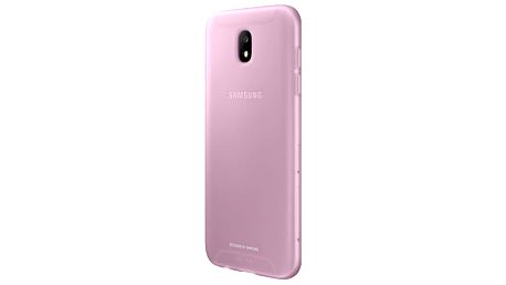 Kryt na mobil Samsung Jelly Cover pro J3 2017 (EF-AJ330T) růžový (EF-AJ330TPEGWW)