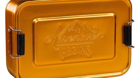 Box na svačinu Gentlemen's Hardware Gold Tin