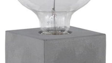 Stolní lampa s betonovým podstavcem Geese, výška 13 cm