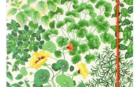 Zápisník Laura Ashley Living Wall by Portico Designs,160stránek