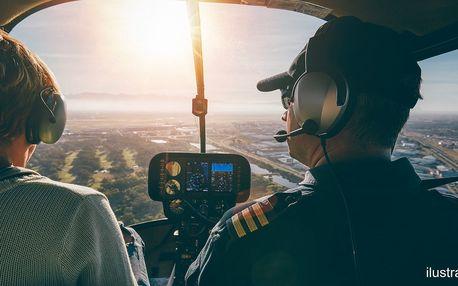 25 minut pilotování nad Brnem a okolím