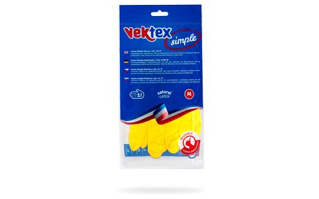 Vektex Simple rukavice vel. M, 1 pár