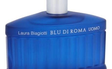 Laura Biagiotti Blu di Roma Uomo 125 ml toaletní voda tester pro muže