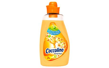 Coccolino Orange rush aviváž, 57 praní 2 l