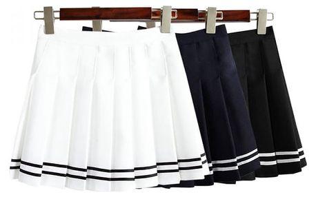 Dámská skládaná sukně