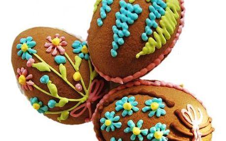 Velikonoční vajíčka z perníku 3 ks