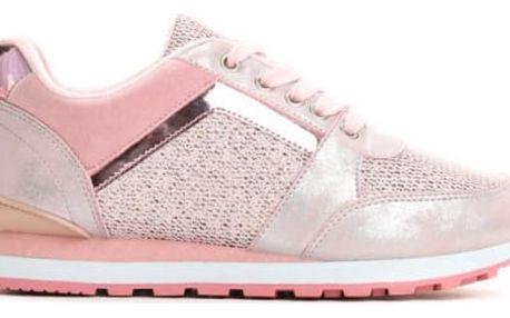 Dámské růžové tenisky Monita 8375