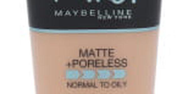Maybelline Fit Me! Matte + Poreless 30 ml makeup pro ženy 120 Classic Ivory