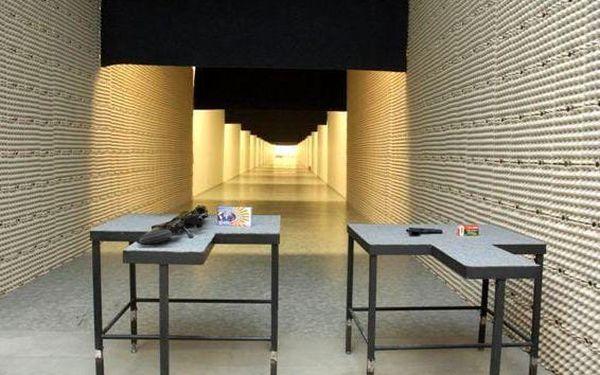 Střelba na kryté střelnici5